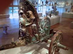 Etruscan chariot, Metropolitan Museum of Art (lreed76) Tags: metropolitanmuseum etruscan