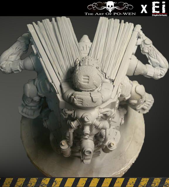 【作品發表】台灣原創雕像作品-PO WEN X 帝國工業重污染