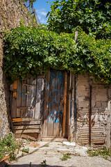 Puerta trasera (SantiMB.Photos) Tags: barcelona espaa puerta gate catalua horta clota sal18250