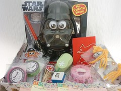 Very Happy Mail Day! (Muffinda) Tags: happy starwars day mail presents hugs carmen regalitos