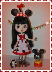 Look Out Minnie a New Girl's in Town