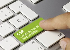 CSR Corporate social responsibility keyboard key. Finger (luisvinan) Tags: desktop new green up smart horizontal digital computer photography corporate idea office high spain keyboard key technology hand close tech display background object letters touch internet performance plan social nobody icon screen science system monitor business responsibility software user future online button choice concept press simple generation strategy isolated connection csr