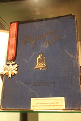 Olympic Games 1936 Book and Medal (demeeschter) Tags: history museum war belgium wwii ardennes battle bulge bastogne