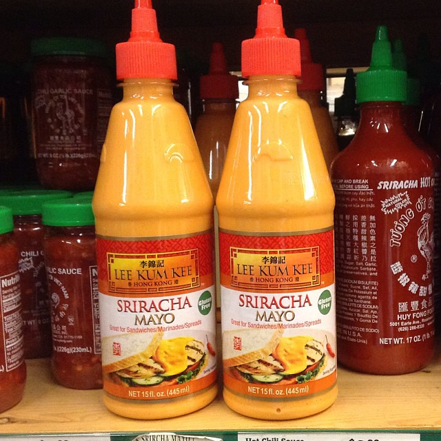 Cultural mashup -- Lee Kum Kee Sriracha by Gary Soup, on Flickr