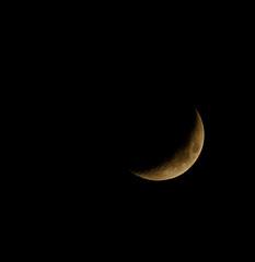 24.8% (keldar44) Tags: moon waxingcrescent canon400mmf56 canoneos7d canon14xefextenderiii