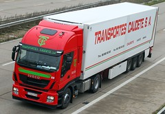 Iveco Stralis 7202 HTM - Transportes Caudete (gylesnikki) Tags: new truck kent artic hiway m20 2013 transportescaudete