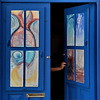 The unknown (Nespyxel) Tags: door blue fish colors dark square open arm blu porta unknown sicily sicilia eolie braccio incognita panarea nespyxel stefanoscarselli tufototureto
