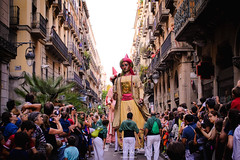 Life is what you celebrate. All of it. Even its end. (Jessica AG) Tags: barcelona party giant fiesta celebration giants festa celebrating gegants celebraciones lamerc ilovebarcelona