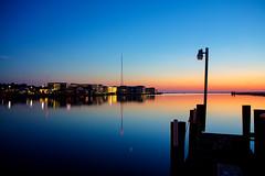 Chincoteague Harbor - Blue Hour (MurrayH77) Tags: blue harbor va hour hdr chincoteague photomatix 3exp 450d