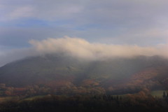 Caer Caradoc in cloud (Dan Raybould) Tags: cloud caradoc caercaradoc allstretton