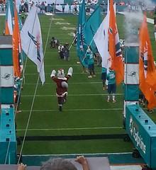 Miami Dolphins Vs NE Patriots 12/15/13 (bpephin) Tags: santa football miami nfl samsung dolphins patriots miamidolphins