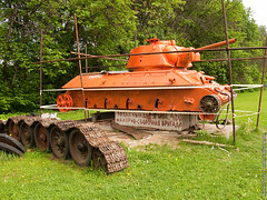 -34/Museum of tank T-34 (Mikhail Soulim) Tags: museum russia wwii technics tanks sovietunion