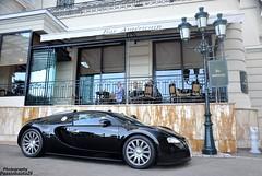 Black Veyron (Passionauto291) Tags: black french riviera casino montecarlo monaco 164 bugatti supercars veyron carspotting eb164 hypercars passionauto29