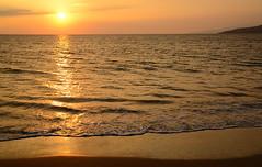 Maui Sunset (Steven W Lum) Tags: ocean sunset beach hawaii maui