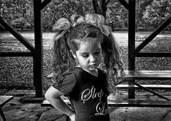 pavilion pout (TheWalkinMan) Tags: portrait face blackwhite nikon pout pavilion