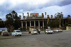 Rose Bowl 1964 (mybelair62) Tags: ford rose parking lot bowl pontiac chrysler pasadena 1964
