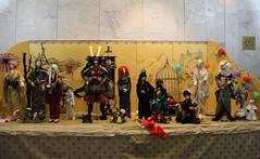 View of BJD exhibition in Vilnius (Inarisan) Tags: vintage asian japanese doll ooak crafts silk sd armor kimono samurai bjd superdollfie yoroi abjd balljointeddoll dollclothes bjdkimono