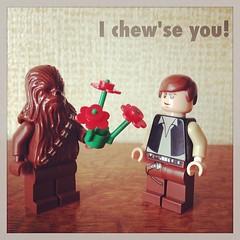 Geek Valentine: I chew'se you! #geek #love #lego #nerd #valentine #starwars (betsyweber) Tags: love nerd square starwars geek heart lego valentine card squareformat dork rise valentinesday may4 starwarsday usetheforce may4th maytheforcebewithyou legominifigs legominifigures maythefourthbewithyou iphoneography instagramapp forcefriday