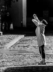 LIGHT SYNPHONY (Galantucci Alessandro) Tags: street city trip portrait people urban blackandwhite bw italy woman man art film italian europe candid documentary east romania gypsy decisivemoment alessandrogalantucci galantucci
