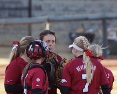 University of Arkansas Razorbacks vs Jackson State University Tigers Softball (Garagewerks) Tags: woman college sport female university all state sony sigma jackson diamond tigers arkansas vs softball athlete fayetteville razorbacks 50500mm views100 f4563 boglefield slta77v