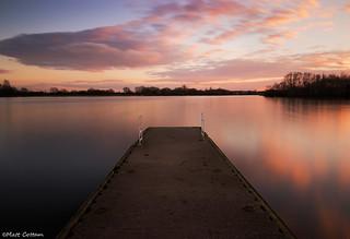 Colwick Jetty Sunset