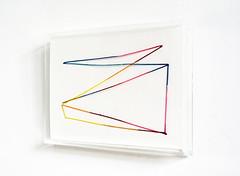 Ayatori (framed) (mayakonakamura) Tags: abstract tokyo drawing framed nagoya nakamura mayako soloshow semiabstract kohkanenikkiten akihironakamura isshagalleryvaleur
