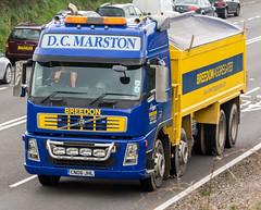 D.C.Marston Volvo (Mark Hobbs@Chepstow) Tags: cameraphone camera dog wales train photography nikon ship d750 fullframe fx chepstow monmouthshire hgv d7100 markhobbs
