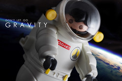 Gravity (witty.terence) Tags: toy photography gravity playmobil toyphotography gravityfilm ploymobiltoys