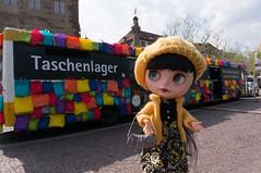 "Taschenlager - ""baggage room""?"