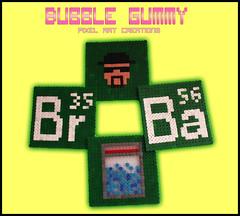 Posavasos Breaking Bad (Bubble Gummy pixel art) Tags: bad pixelart coaster hama perler breaking vasos 8bits posa posavasos hamabeads perlerbeads breakingbad beadsprite