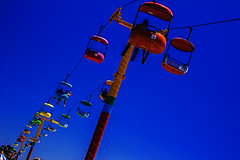 Sky Ride (Abel AP) Tags: california usa santacruz amusementpark amusementride santacruzbeachboardwalk skyglideride abelalcantarphotography
