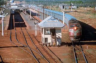 GMs at Kalgoorlie Station, 1976