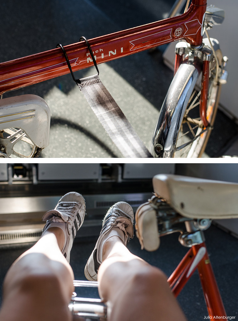Vintage Mini Fahrradkupplung