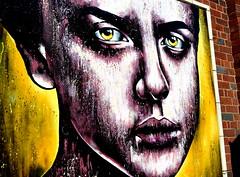 Urban Street Art in Blackpool (Tony Worrall Foto) Tags: show county street uk england urban streetart art english wall graffiti town paint artist tour place northwest painted country north visit location tony lancashire resort urbanart made coastal area northern blackpool lancs fylde daub fyldecoast worrall sunseaspray welovethenorth 2015 2015tonyworrall