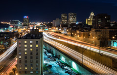 Passing Through (mhoffman1) Tags: columbusboulevard delawareexpressway delwareavenue i95 oldcity pennslanding philadelphia philly societyhill sonyalpha a7r city evening longexposure night pennsylvania unitedstates us