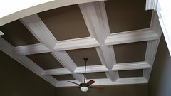 Living Room Ceiling Before