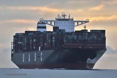 Al Dahna (Bernhard Fuchs) Tags: boat cargoships containerschiffe frachtschiffe nikon schiffe ship ships vessel water elbe cargo cuxhaven containerschiff fracht frachtschiff uasc schiff boot