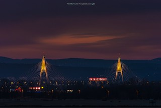 Hungary | Budapest | Megyeri bridge.