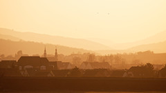 Molsheim (Bruno MATHIOT) Tags: sunset alsace france french canon 760d 55250 paysage landscape chaud hot warm soleil sun ville city town silhouette