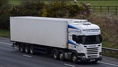 SV16NPU  J&D Cowper, Evanton (highlandreiver) Tags: sv16npu jd cowper evanton scotland scottish scania truck lorry freight wagon transport haulage m6 wreay carlisle cumbria sv16 npu