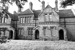 Westwood cottages, almshouses on Raby Street in Moss Side, Manchester (Alex Pepperhill) Tags: history buildings manchester victorian listed poorhouse mossside almshouses gradeii rabystreet westwoodstreet westwoodcottages