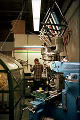 (john daniel reiss) Tags: sf ca film bike shop 35mm track low bicycles r1 portra ricoh fabrication 2013