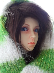 West at Christmastime (Calio4) Tags: sd bjd hybrid jina fantasydoll migidoll fdoll