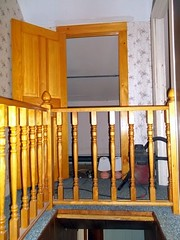 Closet And Railing. (dccradio) Tags: house ny newyork home rooms interior upstateny constable northernny