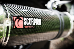 Scorpion Exhaust (Kernel Mustard) Tags: scorpion suzuki carbon exhaust fibre carbonfibre