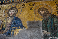 IMG_2604 (Micha Olszewski) Tags: art church turkey europe mosaic istanbul mosque land ayasofya religiousbuildings haghiasofia