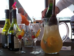 champagne sangria at columbia the pier (craftyhag) Tags: life moon saint tampa bay pier day florida petersburg columbia daily full every restaraunt