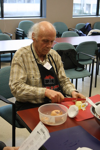 Men's Cooking Club - April 2013 - SPRINT and Alzheimer Society 013