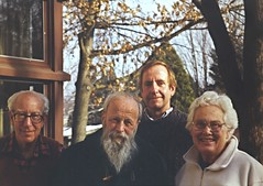 Walter Rudin, L. C. Young, Roger Wiegand & Mary Ellen Rudin, Madison 1998 (ali eminov) Tags: friends analysts colleagues professors mathematicians walterrudin maryellenrudin topologists lcyoung rogerweigand