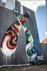 St-Laurent Mural Reka Australia Juin 2013 DSP6299 (photofil) Tags: urban streetart graffiti mural montral montreal australia melbourne urbanart australie reka photofil mural2013
